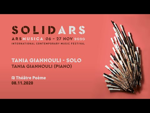 Ars Musica Solid·Ars [ONLINE] - Tania Giannouli, solo