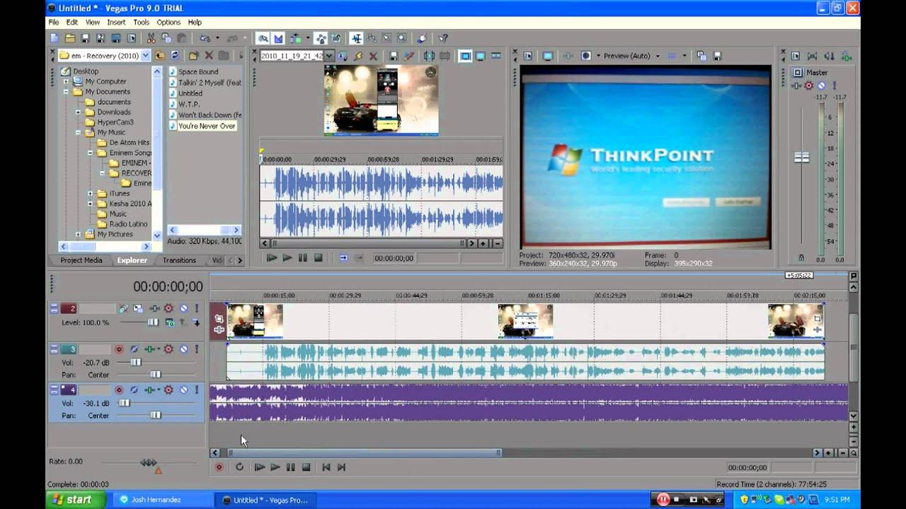 how to create thumbnail sony vegas pro
