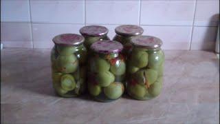 Фаршированные зеленые помидоры(Пошаговый видео рецепт фаршированных зеленых помидоров. Текстовый вариант рецепта http://povarenok.com.ua/lib/lib41.html., 2015-09-13T21:30:55.000Z)