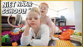 LUCiLLA MOET THUiS BLiJVEN VAN SCHOOL! 😢 | Bellinga Vlog #2067