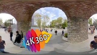 Gulhane park 4K 360° VR tour Istanbul / Turkey