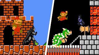 Super Mario Bros. 1 (NES) - Batman vs Super Mario. ᴴᴰ