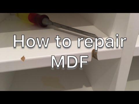 How to Repair MDF