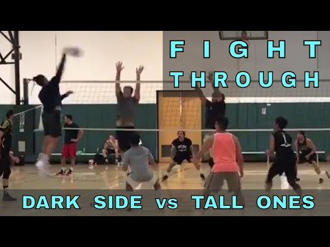 FIGHT THROUGH - Dark Side vs Tall Ones (FULL GAME 8/3/17) - IVL Men's Open Volleyball