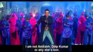 no Amitabh, nor Dilip Kumar, just Akshay Lyrics