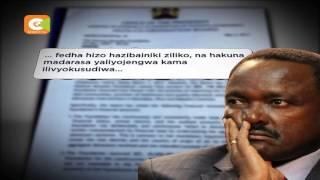 Wakfu wa Kalonzo wafungwa
