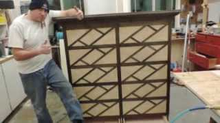 How To Build A 10 Drawer Dresser With Hidden Compartments Out Of Maple Plywood Furniture