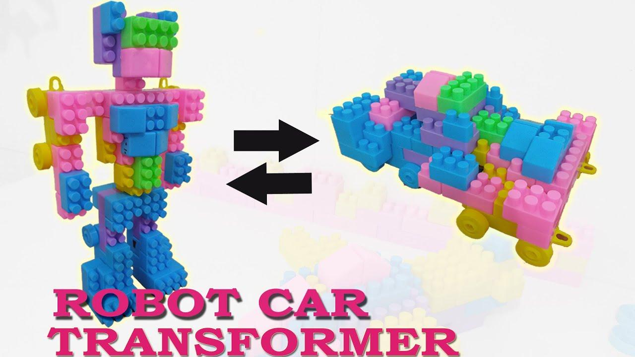Robot Transformers Toy Optimus Prime Bumblebee Building Blocks DIY Toys