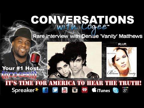 Rare Interview with Denise 'Vanity' Matthews (Pop superstar Prince protégé)