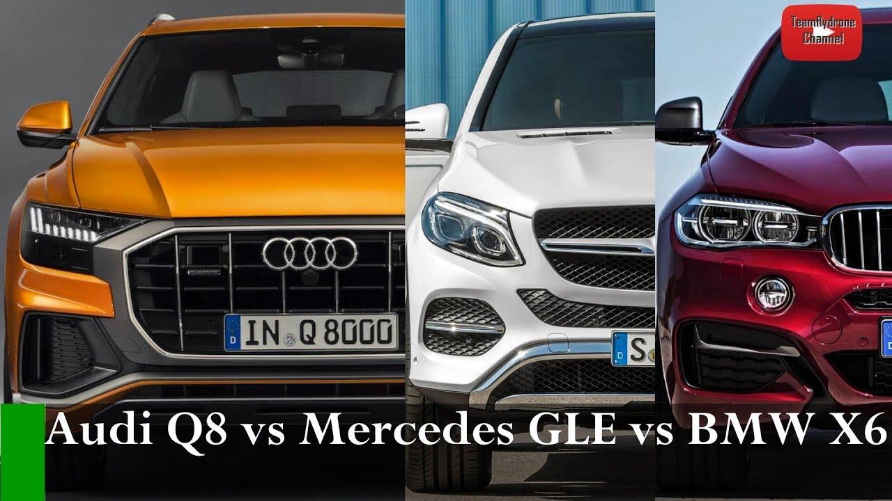 Test Comparativo 2019 Audi Q8 Vs Mercedes Gle Coupe Vs Bmw X6