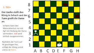 Schach lernen #6 (Doppelangriffe)