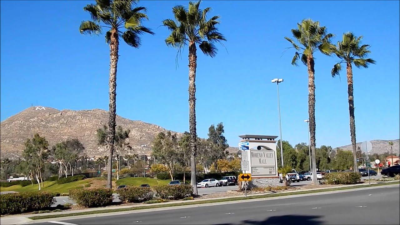 Moreno Valley California Mall Y Centro Youtube