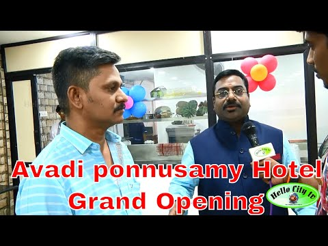 Avadi ponnusamy Hotel -MD Interview- Event | Toast | Cheese Recipes | Sandwich | Cooking Competition