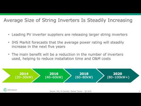 Overcoming Challenges in Utility-scale PV With String Inverters