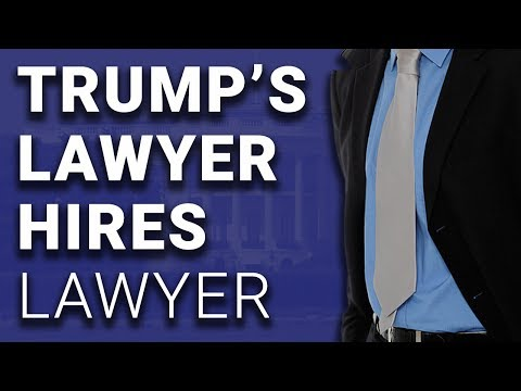 Uh-Oh: Trump's Lawyer Hires a Lawyer; So Does Mike Pence