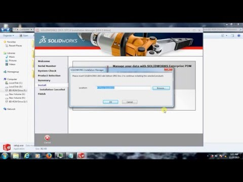 How to install SolidWorks 2015 [Crack] on Windows 10 | Doovi