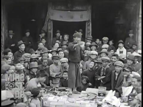 1930年的台北大稻埕迪化街市集(超珍貴的影音紀錄)