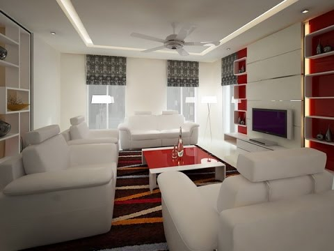 Using gypsum boards for decoration - YouTube
