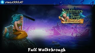 Nightmares from the Deep 2: The Siren's Call - Full Walkthrough + Bonus Chapter [PS4] rus199410