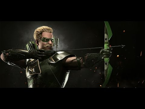 Injustice 2: Green Arrow Arcade Playthrough + Ending