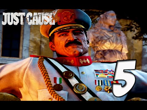 Just Cause 3 Gameplay | Part 5 - THEY GOT TANKS!!! OH SH*T ...