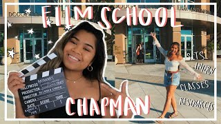 FIRST YEAR AT FILM SCHOOL|CHAPMAN UNIVERSITY