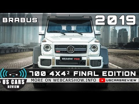 2019 BRABUS 700 4X4² FINAL EDITION Review Release Date Specs Prices