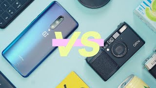 OnePlus 7 Pro Camera VS FILM Camera! | Ricoh GR1v