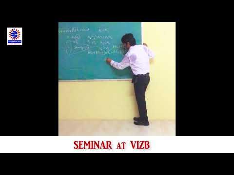 Engineers Hub Seminar at VIZB