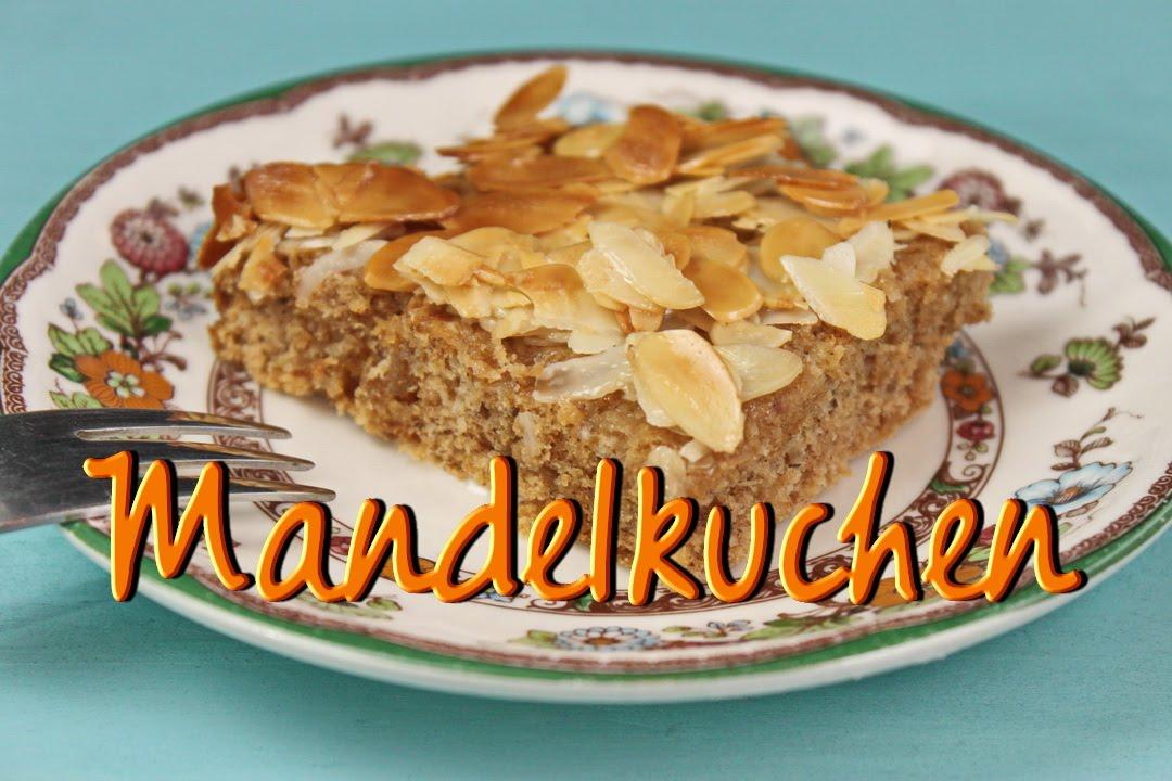 Schneller Blechkuchen Rezept mandelkuchen rezept schneller einfacher blechkuchen