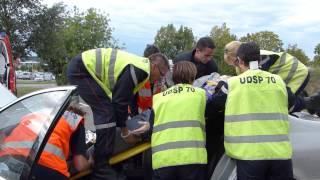 Formation d'Infirmiers de Sapeurs-Pompiers Volontaires (ISPV) au SDIS 70