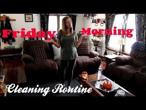 CLEAN WITH ME|Friday Morning Cleaning Routine!