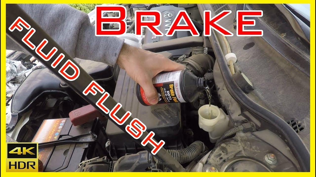 Toyota Camry Brake Fluid Complete Flush