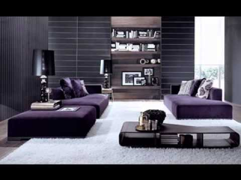 Purple and grey bedroom design ideas YouTube