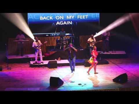 Back On His Feet Again   VINCENT ISAAC - Seychelles