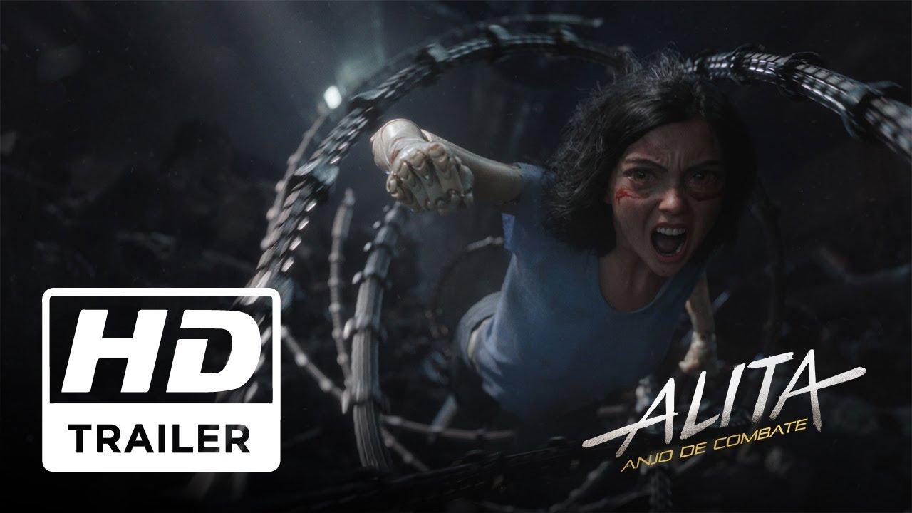 Alita Anjo De Combate Trailer Oficial 2 Legendado Hd Youtube