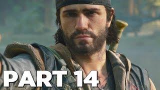 DAYS GONE Walkthrough Gameplay Part 14 - HORDE (PS4 Pro)
