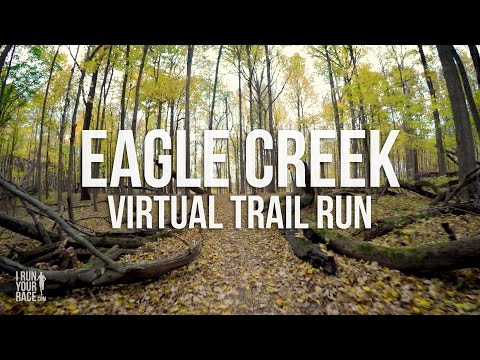 Treadmill Virtual Run | Eagle Creek Trails in 4k