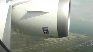 GO AROUND!!! at London Gatwick, Norwegian Boeing 787-8 Dreamliner