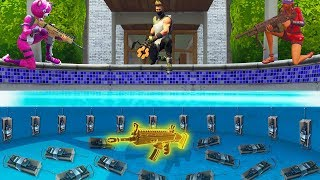 PRANK DANS LA PISCINE !! FORTNITE