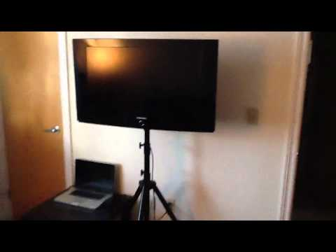 TV Tripod Display Stand for Home or Tradeshows