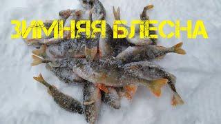 Попал на выход Ловля окуня на блесну и балансир зимой Зимняя рыбалка 2021