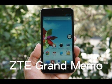 ZTE Grand Memo hands-on (Greek)