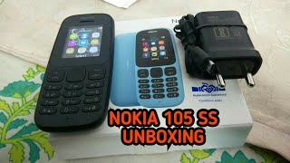 Nokia 105 single sim BEST VIDEO (black) unbox