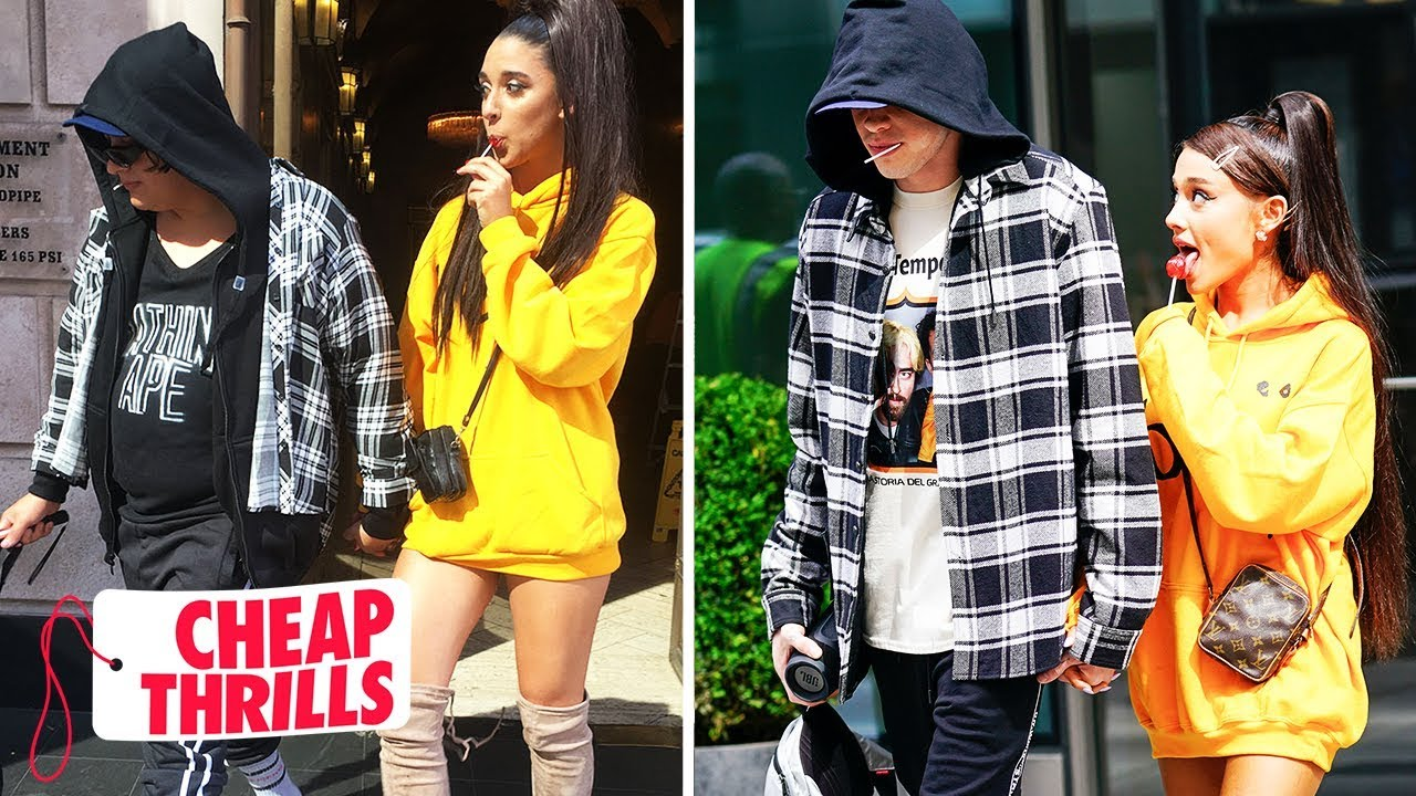 [VIDEO] - How to Dress like Ariana Grande & Pete Davidson | Cheap Thrills | Tatered 8