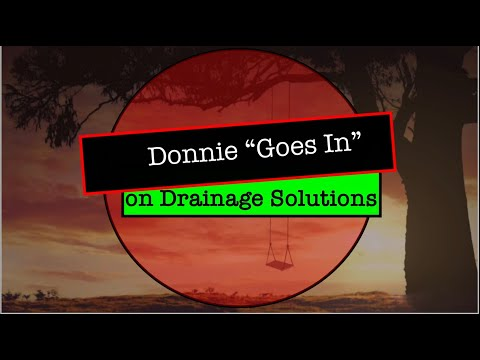 """Donnie """"Goes In"""" on Drainage Solutions #Gambia #Africa #Flooding #Roads #Farming #Drainage"""