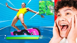 REACTING TO FUNNIEST FORTNITE MEMES!!