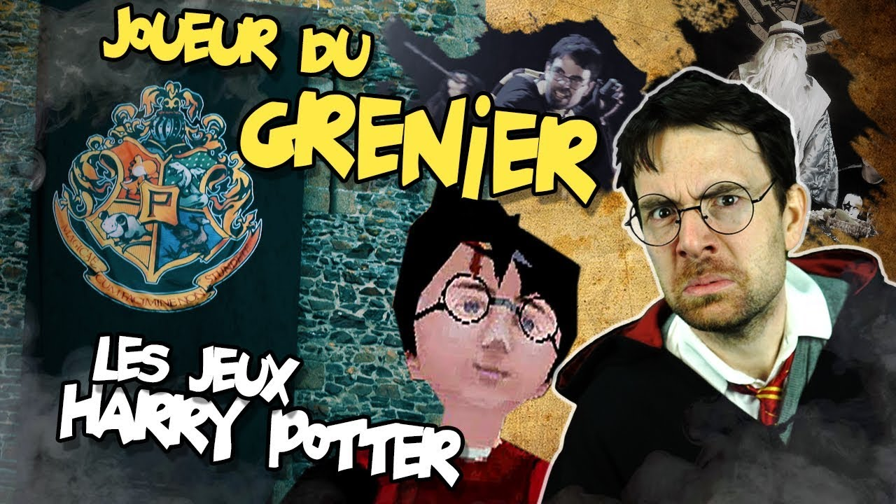 joueur du grenier harry potter youtube. Black Bedroom Furniture Sets. Home Design Ideas