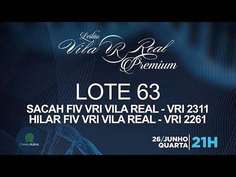 LOTE 63 (VRI 2311/VRI 2261)