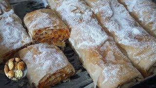 ПИТА С ТЫКВОЙ. Слоёный сербский тыквенный пирог/Pita sa bundevom